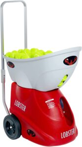 Lobster Sports – Elite Liberty Battery Operated Tennis Ball Machine – Best Overall Tennis Ball Machine