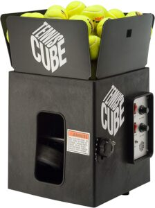 Tennis Cube Sports Tutor Tennis Ball Machine- Best Portable Machine